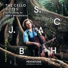 Johann Sebastian Bach (1685-1750): Cellosuiten BWV 1007-1012, 2 SACDs
