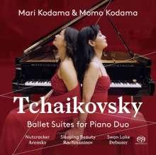 Peter Iljitsch Tschaikowsky (1840-1893): Ballettsuiten (arr.für Klavier 4-händig), SACD