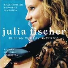 Julia Fischer - Russische Violinkonzerte, SACD