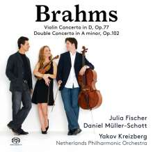 Johannes Brahms (1833-1897): Violinkonzert op.77, SACD