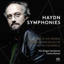 Joseph Haydn (1732-1809): Symphonien Nr.53,64,96, SACD