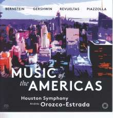 Houston Symphony Orchestra - Music of the Americas, Super Audio CD