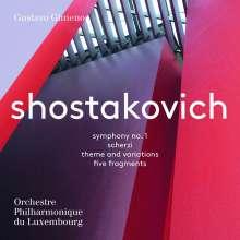 Dmitri Schostakowitsch (1906-1975): Symphonie Nr.1, SACD