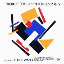Serge Prokofieff (1891-1953): Symphonien Nr.2 & 3, SACD