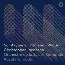 """Camille Saint-Saens (1835-1921): Symphonie Nr.3 """"Orgelsymphonie"""", Super Audio CD"""