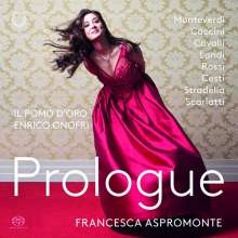 Francesca Aspromonte - Prologue, Super Audio CD