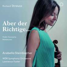 Richard Strauss (1864-1949): Violinkonzert op.8, SACD