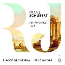 Franz Schubert (1797-1828): Symphonien Nr.1 & 6, SACD