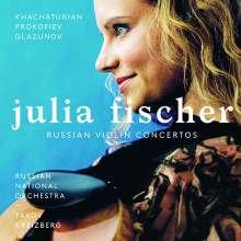Julia Fischer - Russische Violinkonzerte (180g), 2 LPs