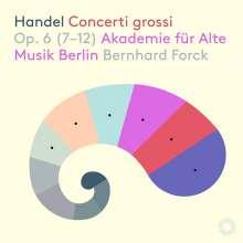 Georg Friedrich Händel (1685-1759): Concerti grossi op.6 Nr.7-12, SACD