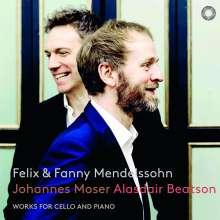 Johannes Moser - Felix und Fanny Mendelssohn, SACD