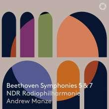 Ludwig van Beethoven (1770-1827): Symphonien Nr.5 & 7, SACD