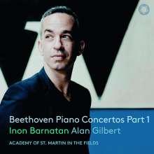 Ludwig van Beethoven (1770-1827): Klavierkonzerte Nr.1,3,4, 2 CDs