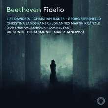 Ludwig van Beethoven (1770-1827): Fidelio op.72, 2 Super Audio CDs