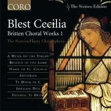 Benjamin Britten (1913-1976): Das Geistliche Chorwerk Vol.1, CD