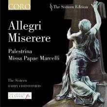 Giovanni Pierluigi da Palestrina (1525-1594): Missa Papae Marcelli, CD
