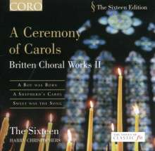Benjamin Britten (1913-1976): A Ceremony of Carols op.28, CD