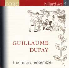 Hilliard Ensemble Live 4 - Guillaume Dufay, CD