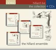 Hilliard Ensemble Live - The Collection, 4 CDs