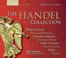 Georg Friedrich Händel (1685-1759): The Händel Collection (Coro), 12 CDs