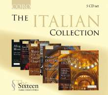 The Sixteen - The Italian Collection, 5 CDs