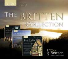 The Sixteen - The Britten Collection, 3 CDs