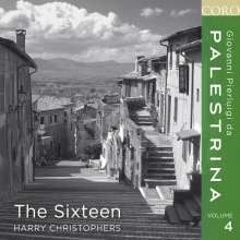 Giovanni Pierluigi da Palestrina (1525-1594): Palestrina-Edition Vol.4 (The Sixteen), CD