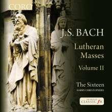 Johann Sebastian Bach (1685-1750): Lutherische Messen Vol.2, CD