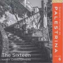 Giovanni Pierluigi da Palestrina (1525-1594): Palestrina-Edition Vol.6 (The Sixteen), CD