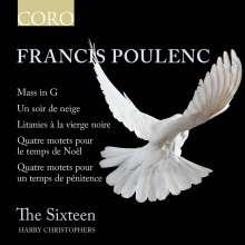 Francis Poulenc (1899-1963): Messe G-dur, CD