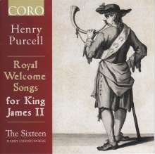 Henry Purcell (1659-1695): Royal Welcome Songs for King James II, CD