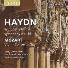 Joseph Haydn (1732-1809): Symphonien Nr.26 & 86, CD