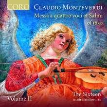 Claudio Monteverdi (1567-1643): Messa a quattro voci et salmi 1650 Vol.2, CD