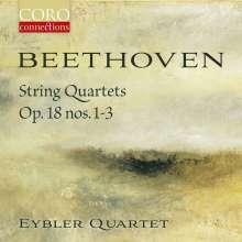 Ludwig van Beethoven (1770-1827): Streichquartette Nr.1-3, CD