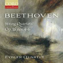 Ludwig van Beethoven (1770-1827): Streichquartette Nr.4-6, CD