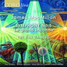 "James MacMillan (geb. 1959): Symphonie Nr.5 ""Le Grand Iconnu"", CD"
