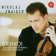 Nikolaj Znaider - Bravo! (Berühmte Zugaben), CD