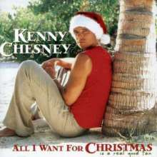 Kenny Chesney: All I Want For Christmas Is ..., CD