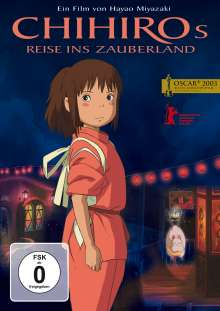 Chihiros Reise ins Zauberland, DVD
