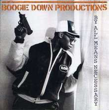 Boogie Down Productions: By All Means Necessary, CD