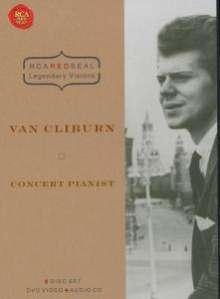 Van Cliburn - Concert Pianist (RCA Legendary Visions), 2 DVDs