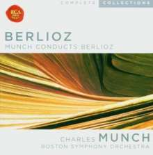 Hector Berlioz (1803-1869): Charles Munch conducts Berlioz, 10 CDs