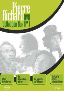 Pierre Richard Collection Box 1, 4 DVDs