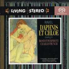 Maurice Ravel (1875-1937): Daphnis et Chloe (Ges.-Aufn.), SACD