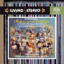 Modest Mussorgsky (1839-1881): Bilder einer Ausstellung (Orchester Fassung), Super Audio CD