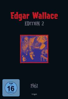 Edgar Wallace Edition 2, 4 DVDs