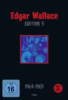 Edgar Wallace Edition 5, 4 DVDs