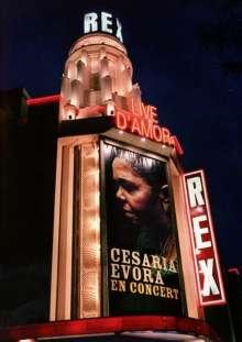 Césaria Évora (1941-2011): Live D'Amor (Live At Le Grand Rex), DVD