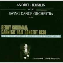 Swing Dance Orchestra: Benny Goodman's Carnegie Hall Concert 1938, 2 CDs