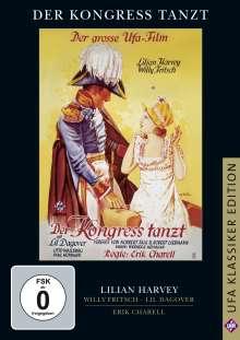Der Kongress tanzt (1931), DVD